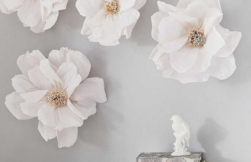 Цветы из бумаги — 165 фото и видео описание создания красивых и стильных бумажных цветов