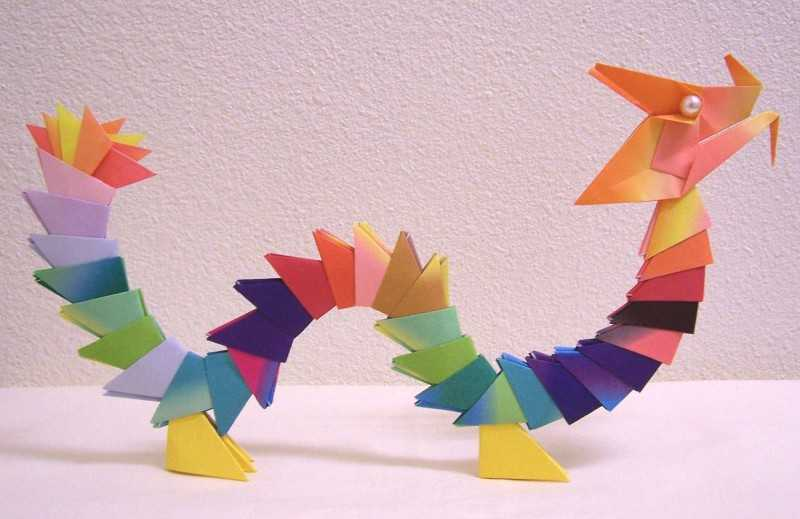 Дракон оригами — 175 фото сборки красивых и оригинальных драконов различных моделей