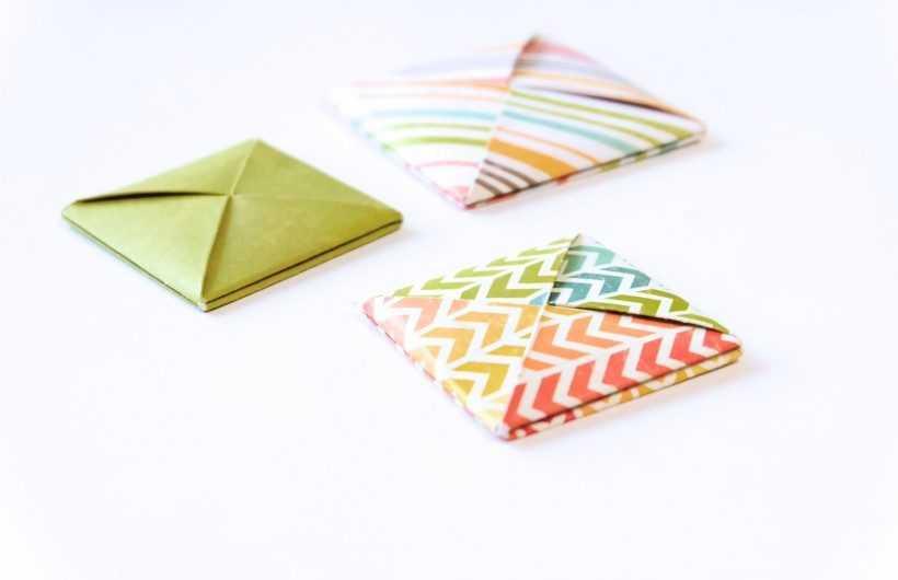 Конверт оригами — способы изготовления необычных и стильных конвертов своими руками (165 фото)