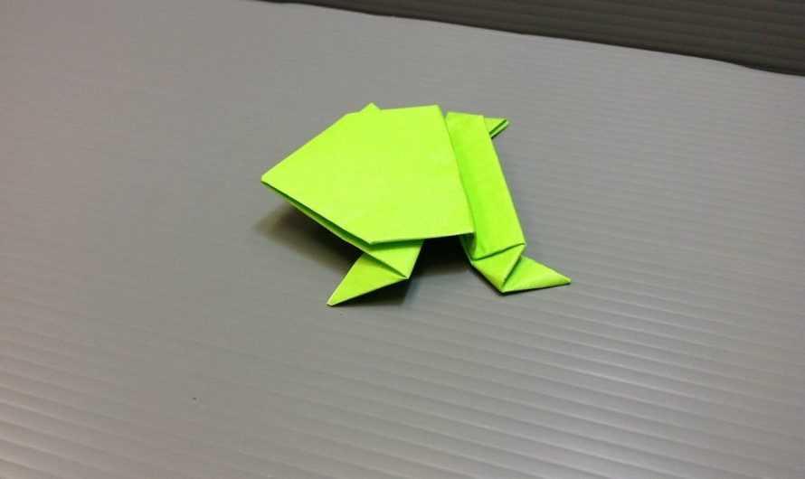 Оригами «прыгающая лягушка» — лучшие схемы и пошаговое описание как сложить оригами (видео + 170 фото)