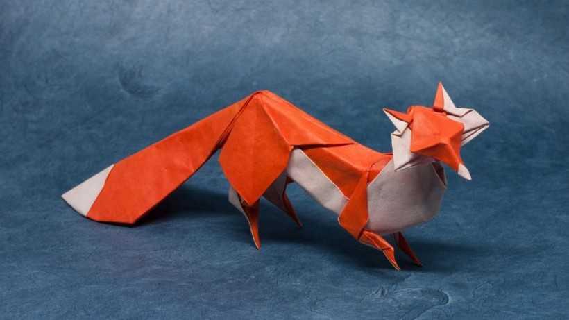Оригами лиса: 175 фото и видео мастер-класс изготовления поделки бумажной лисицы