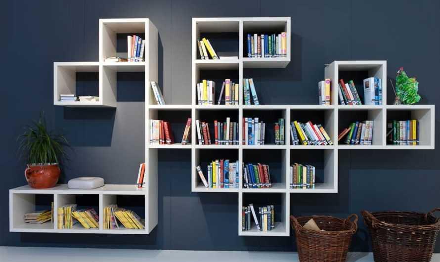 Полка для книг своими руками — интересные идеи и советы как и из чего изготовить (170 фото и видео)