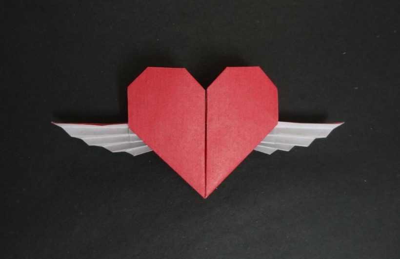 Сердце из бумаги оригами: изготовление и сборка красивой бумажной поделки (165 фото и видео)