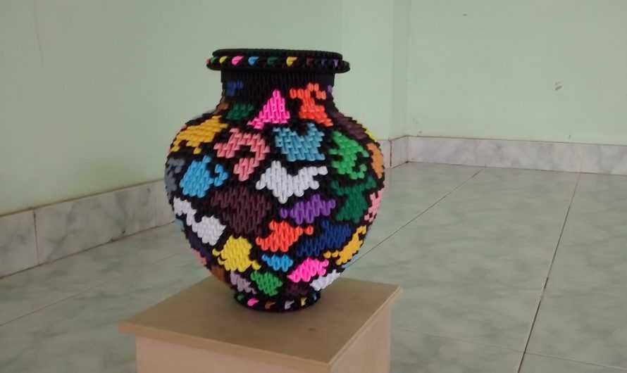 Ваза оригами из модулей — 145 фото и видео описание как изготовить вазу для начинающих