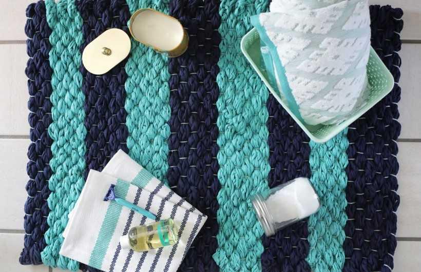 Коврики своими руками — схемы изготовления и обзор самых интересных ковриков (видео + 175 фото)