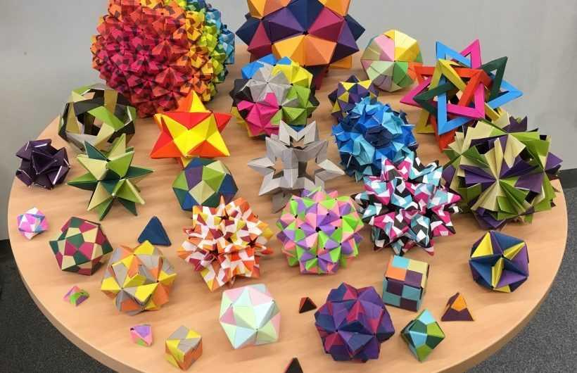 Модульное оригами — 125 фото и видео самых красивых и оригинальных модульных оригами