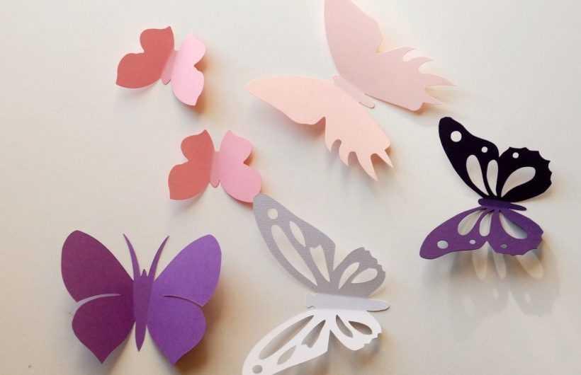 Поделка бабочка: подробная инструкция и мастер-класс. 140 фото и видео простых решений как сделать поделку в виде бабочки