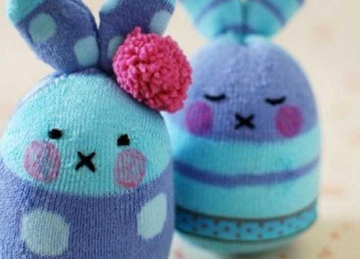 Поделки из носков — советы по выбору и варианты как сделать поделки своими руками (130 фото)