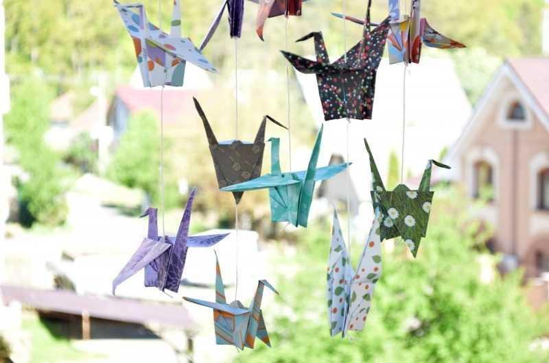 Журавлик оригами — 145 фото и подробная видео инструкция как сделать красивого журавлика