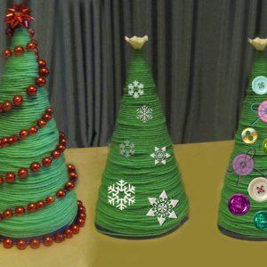 Поделка елка своими руками — 175 фото изготовления поделок в виде елки из подручных материалов