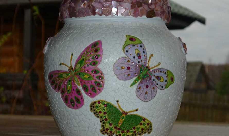 Поделка ваза — 170 фото и видео как сделать стильную вазу и выбрать красивый дизайн ее украшения